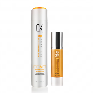 Global Keratin GKhair  Szampon Balancing 300 ml, Serum 50 ml