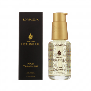 Lanza Keratin Healing Oil Hair Treatment odżywczy olejek do włosów 50 ml