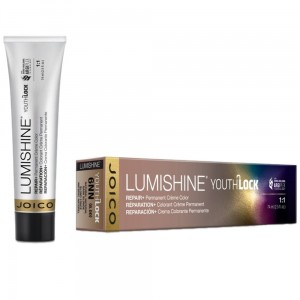 Joico Lumishine YouthLock Permanent Color - Farba do włosów z kolagenem 74 ml